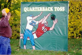 Quarter Back Toss